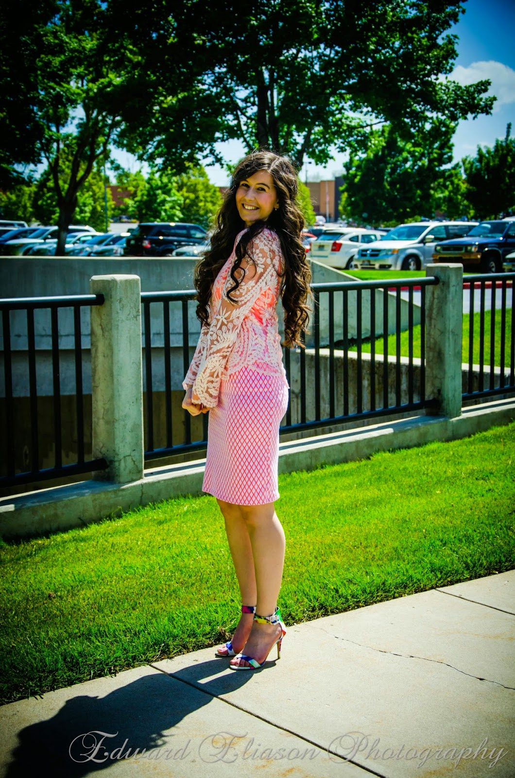 Pink Diamond Heels